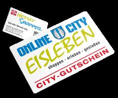 Der City-Gutschein für Eisleben