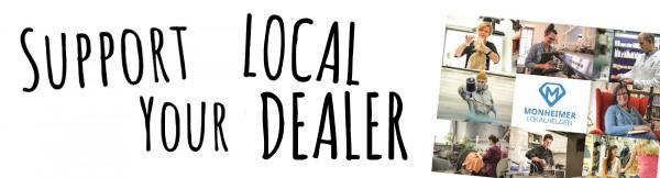 Support your Local Dealer - Gutscheine für den Einzelhandel