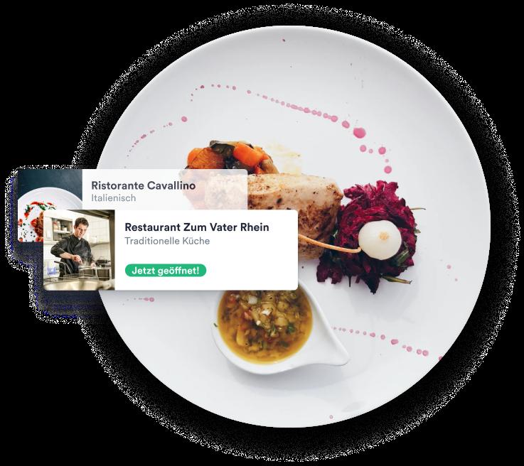 Die digitale Heimat für lokale Gastronomen.